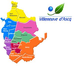 Numéro urgence vétérinaire VILLENEUVE-D'ASCQ 59650